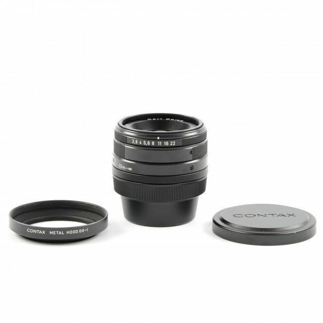 Carl Zeiss 28mm f2.8 Biogon T* Black For Contax G1 / G2