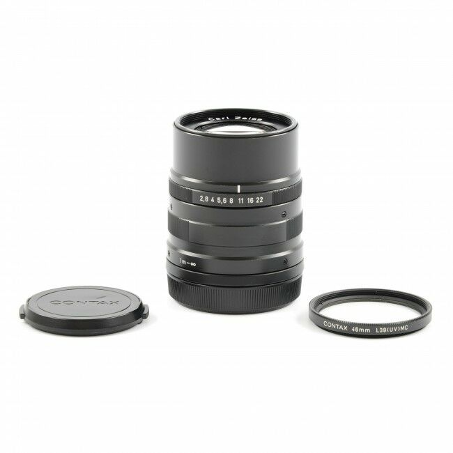 Carl Zeiss 90mm f2.8 Sonnar T* Black For Contax G1 / G2