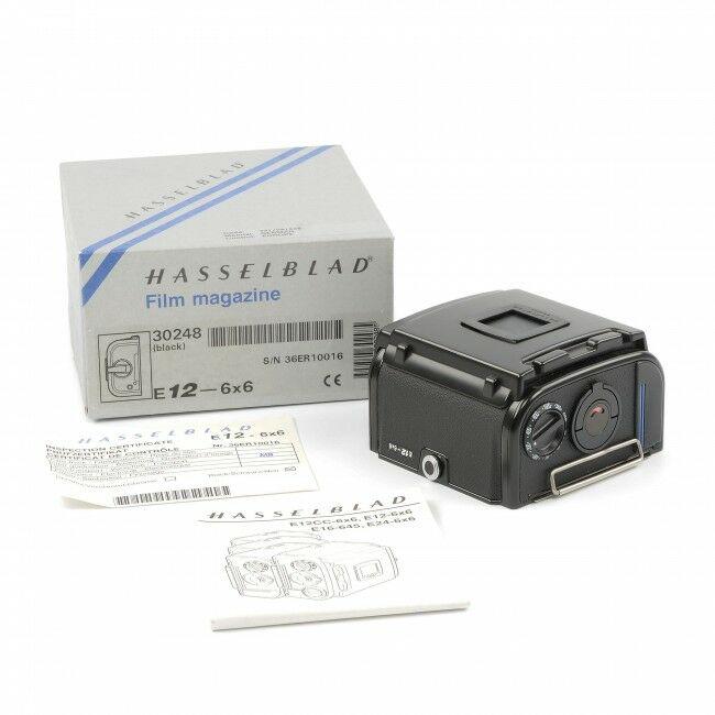 Hasselblad E12 Film Back Black