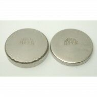Amalux Lens Caps Nickel