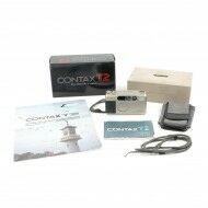 Contax T2 Titan Black 35mm Point And Shoot Film Camera + Box