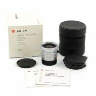 Leica 24mm f2.8 Elmarit-M ASPH Silver 6-Bit + Box Rare