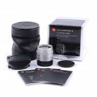Leica 28mm f2 Summicron-M ASPH Silver 6-Bit + Box