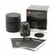 Leica 50mm f2 Summicron-M Black 6-Bit + Box