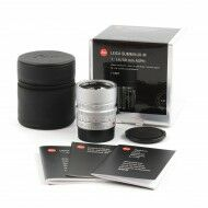 Leica 50mm f1.4 Summilux-M ASPH Silver 6-Bit + Box