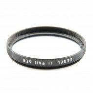 Leica E39 UVA II Filter