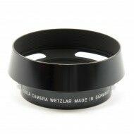 Leica Lenny Kravitz Black Paint Lens Hood For 50mm Summilux Lenses NOS