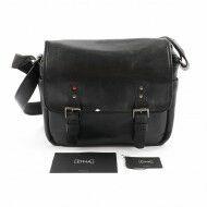 ONA - The Berlin II For Leica - Camera Messenger Bag - Black Leather
